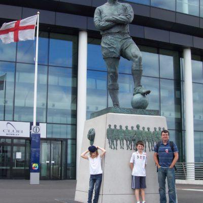 Visiting Wembley Stadium 2008