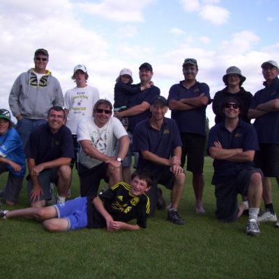 Uni days cricket team reunion 2011